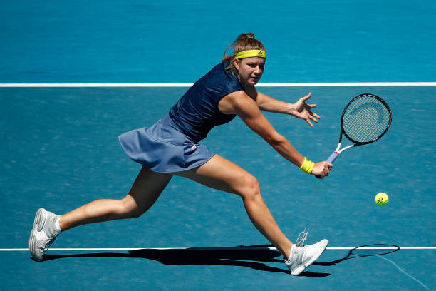 No. 1 Barty upset in Australian quarterfinals by Muchova