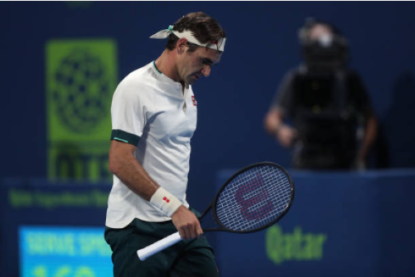 Roger Federer defeated at the ATP Qatar Open