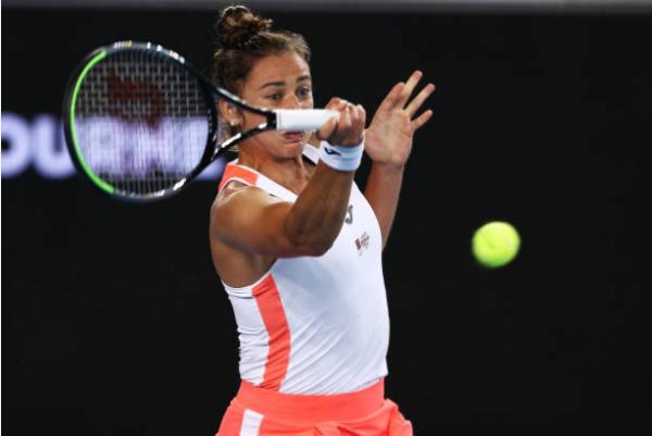 Sara Sorribes Tormo in action ahead of the WTA Guadalajara Open