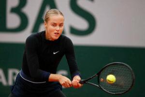Anna Karolina Schmiedlova 2020 French Open