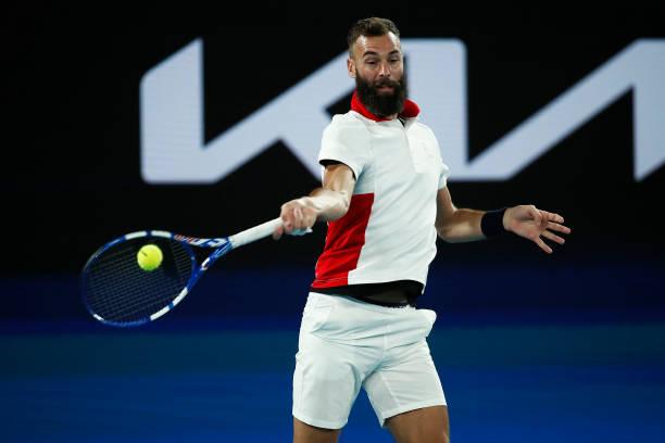 Benoit Paire ATP Cup 2021