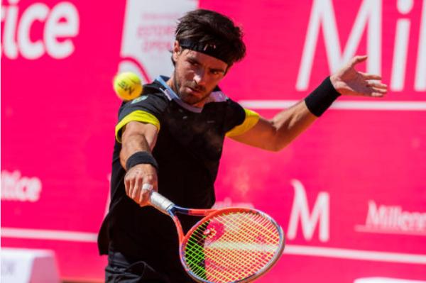 Gastao Elias, a beaten finalist on the ATP Challenger Tour this week.