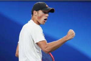 Kacper Zuk, last week a champion on the ATP Challenger Tour.