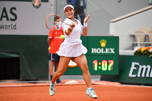 Kristie Ahn 2020 French Open