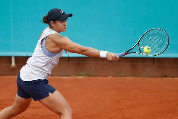 Ashleigh Barty Madrid 2021