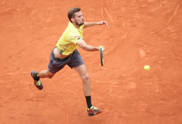 Oscar Otte was last week a beaten finalist on the ATP Challenger Tour.