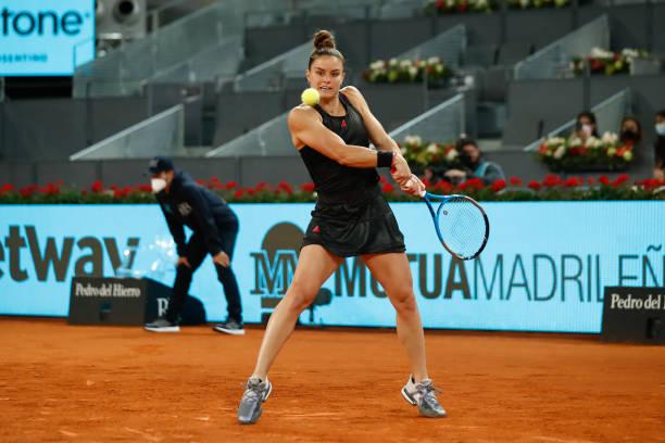 Maria Sakkari Madrid 2021
