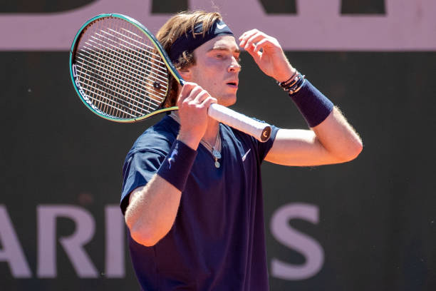 Andrey Rublev French Open