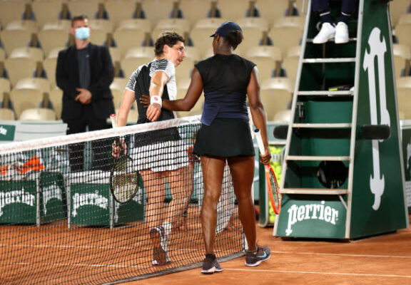 Carla Suarez Navarro Sloane Stephens French Open