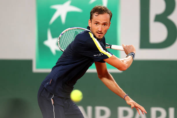 Daniil Medvedev French Open