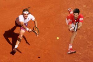 Novak Djokovic and Stefanos Tsitsipas will meet in the French Open final.
