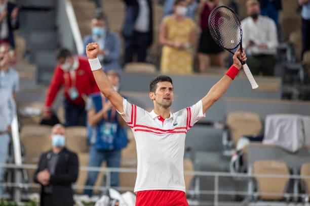 Novak Djokovic French Open