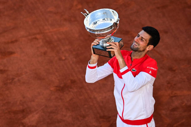 Novak Djokovic French Open Trophy