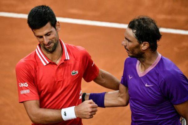 Novak Djokovic Rafael Nadal Rome 2021