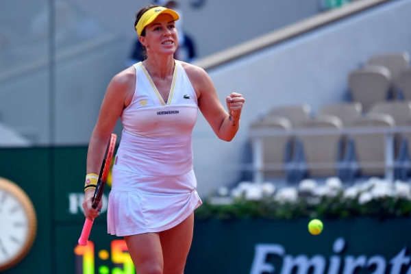 Anastasia Pavlyuchenkova has reached her first Grand Slam semifinal at the French Open.