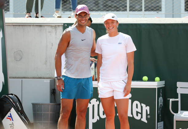Rafael Nadal Iga Swiatek French Open