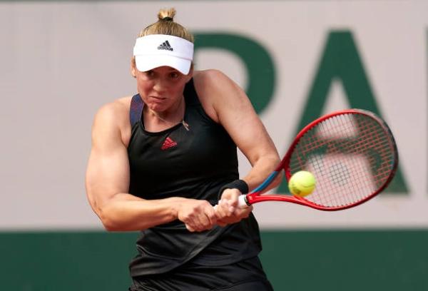 Elena Rybakina in action ahead of the WTA Berlin Open.
