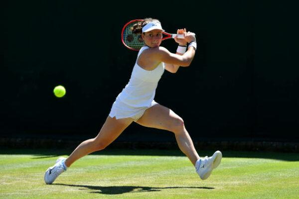 Tamara Zidansek Wimbledon