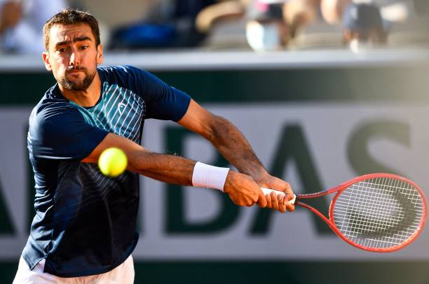 Marin Cilic 2021 French Open