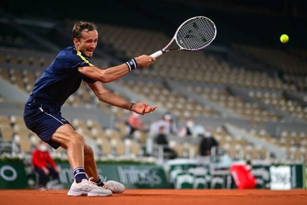 Daniil Medvedev French Open Round 2
