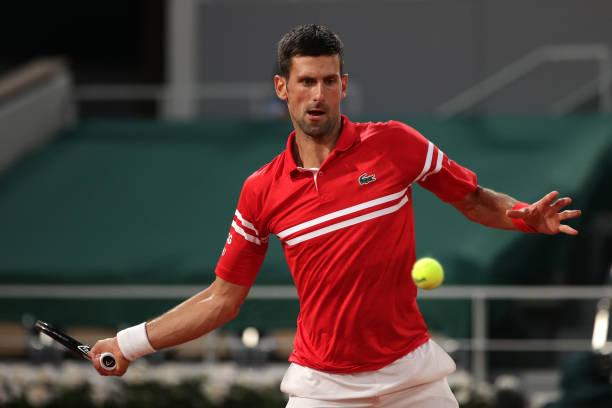 Novak Djokovic French Open 2021 R1