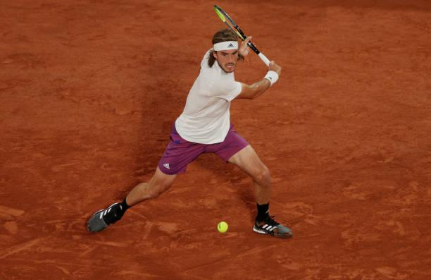 Stefanos Tsitsipas French Open Round 3