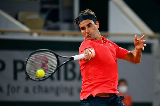 Roger Federer 2021 French Open