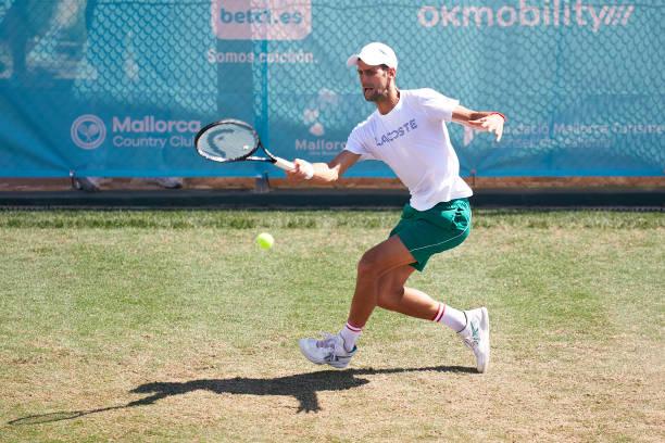 Novak Djokovic Mallorca 2021
