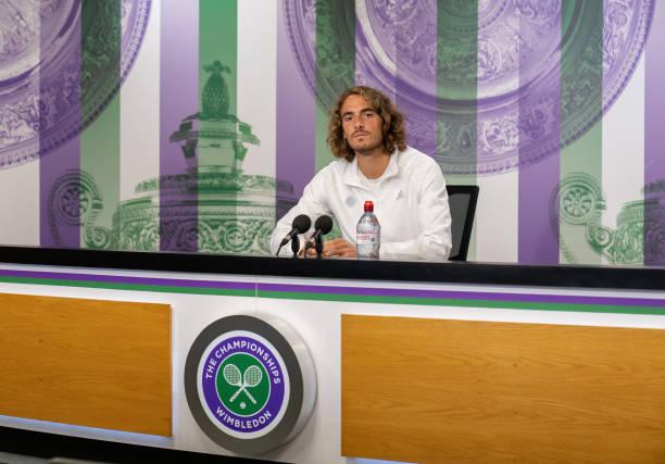 Stefanos Tsitsipas Wimbledon Press Conference