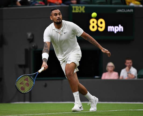 Nick Kyrgios Wimbledon 2021