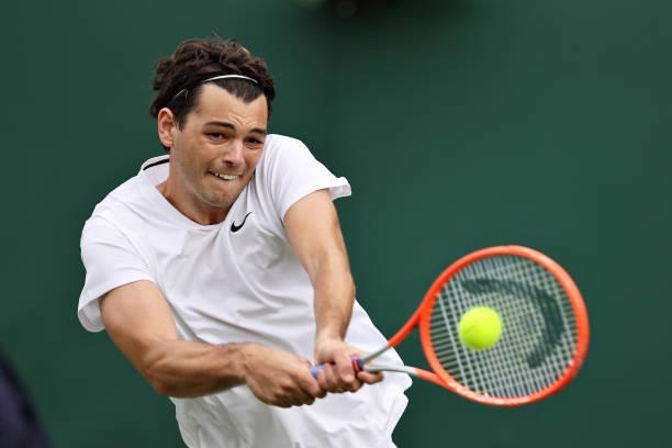 Taylor Fritz Wimbledon 2021