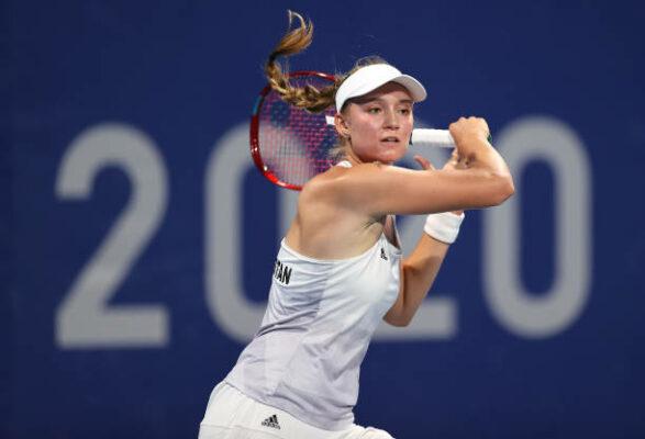 Elena Rybakina Tokyo 2020 Olympics