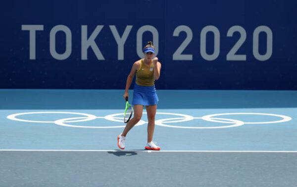 Elina Svitolina Tokyo Olympics