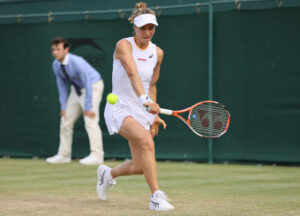 Viktorija Golubic - a rare WTA Tour player who hits the single-handed backhand?