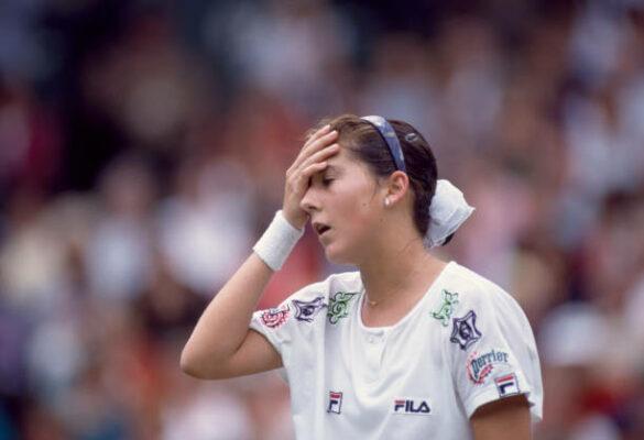 Monica Seles Wimbledon