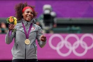 Serena Williams Gold Medal