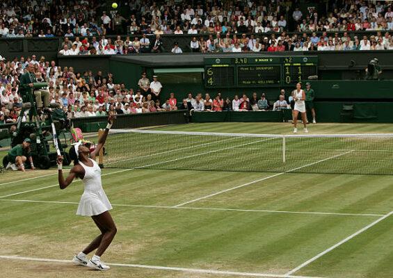 Venus Williams Lindsay Davenport Wimbledon 2005