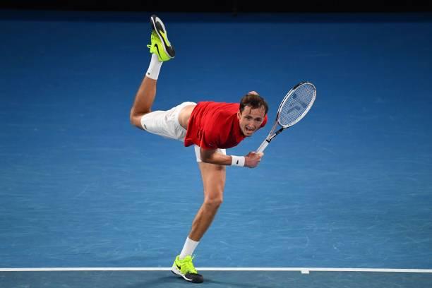 Daniil Medvedev ATP Cup 2021 Serve