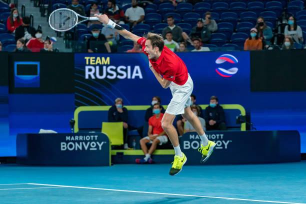 Daniil Medvedev ATP Cup Russia