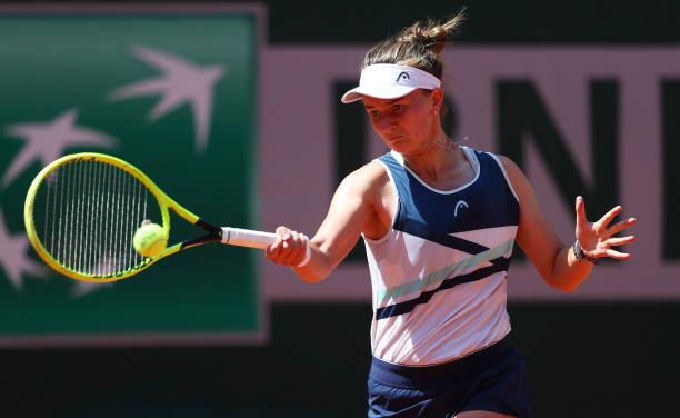 Barbora Krejcikova French Open Forehand