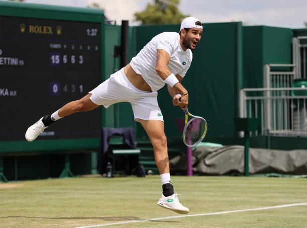 Matteo Berrettini Wimbledon Round of 16 2021