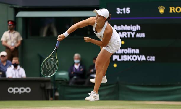 Ash Barty Wimbledon Final 2021
