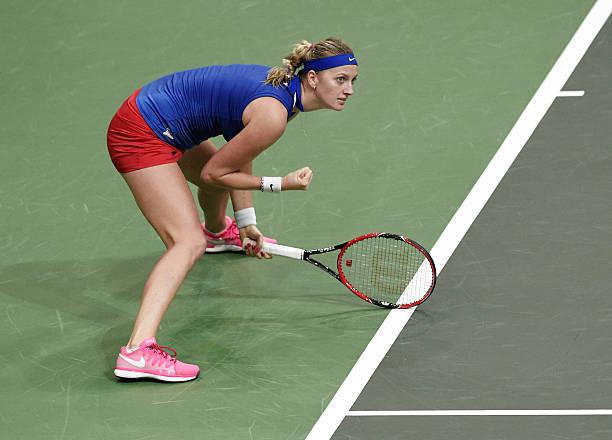 Petra Kvitova Fed Cup 2014