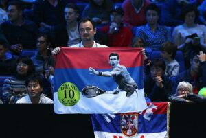 Novak Djokovic Serbian Fan