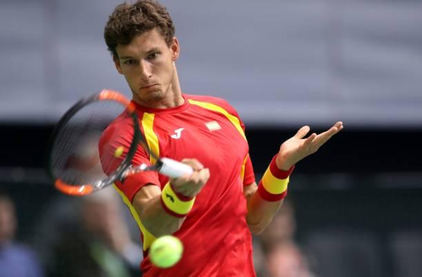 Pablo Carreno Busta Davis Cup