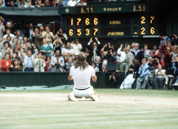 Bjorn Borg 1980 Wimbledon Final