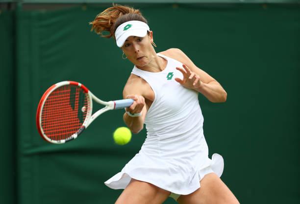 Alize Cornet Wimbledon 2021
