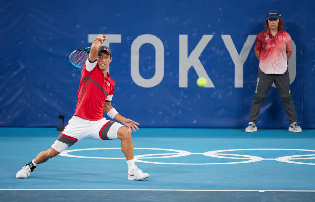 Kei Nishikori Tokyo Olympics