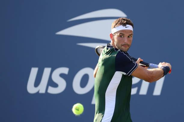 Grigor Dimitrov US Open 2021