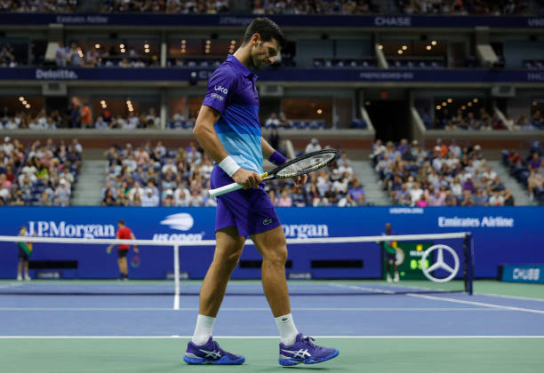 Novak Djokovic is three wins away from completing the Calendar Slam at the US Open.